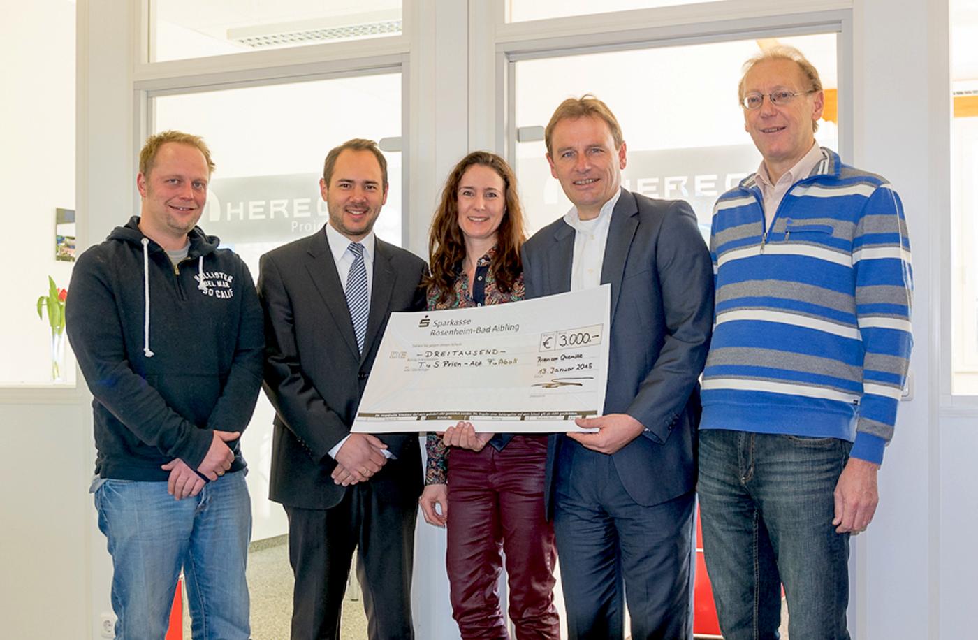 Herecon Projekt GmbH unterstützt Fußball-Förderverein