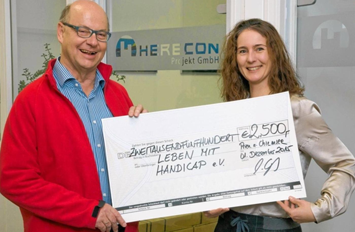 Herecon unterstützt Leben mit Handicap