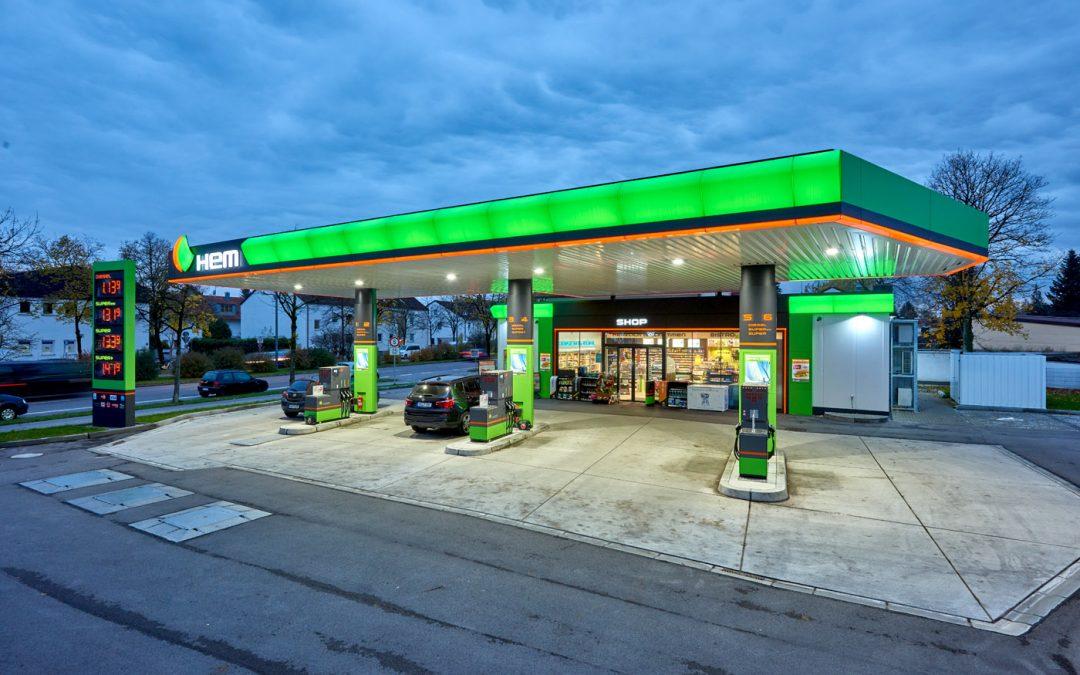 Eröffnung einer HEM Tankstelle