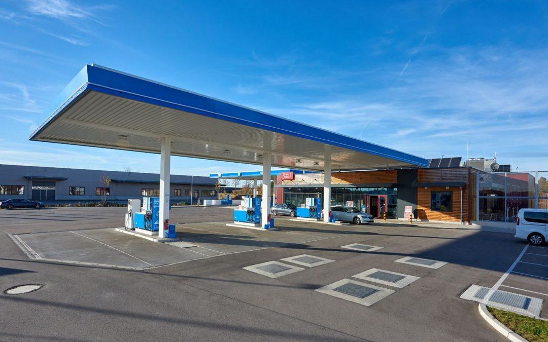HERECON: Inbetriebnahme des Tank & Rast-Autohofes in Gersthofen nach erfolgreicher Entwicklung