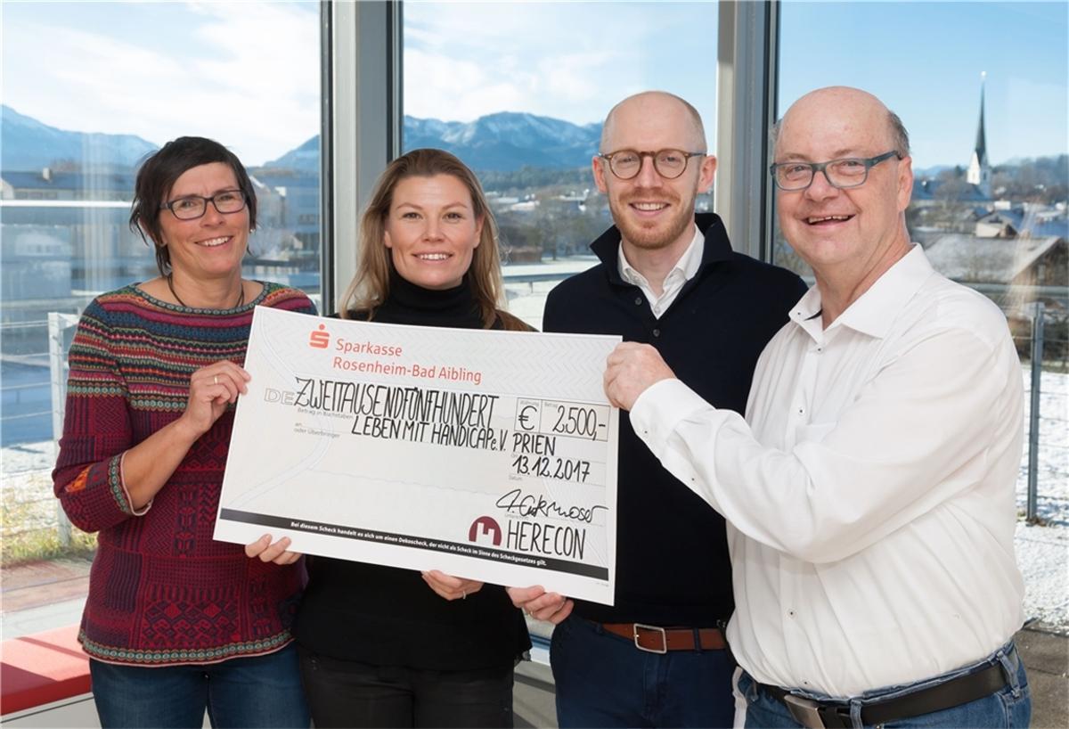 FIRMA HERECON SPENDET GESAMT 8.000 EURO