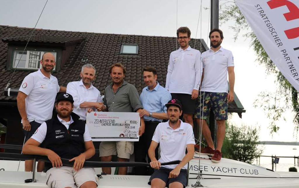 Immobilienentwickler sponsert Segelbundesliga-Team