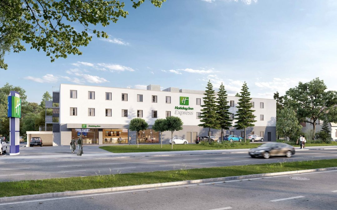 HERECON entwickelt Holiday Inn Express in München