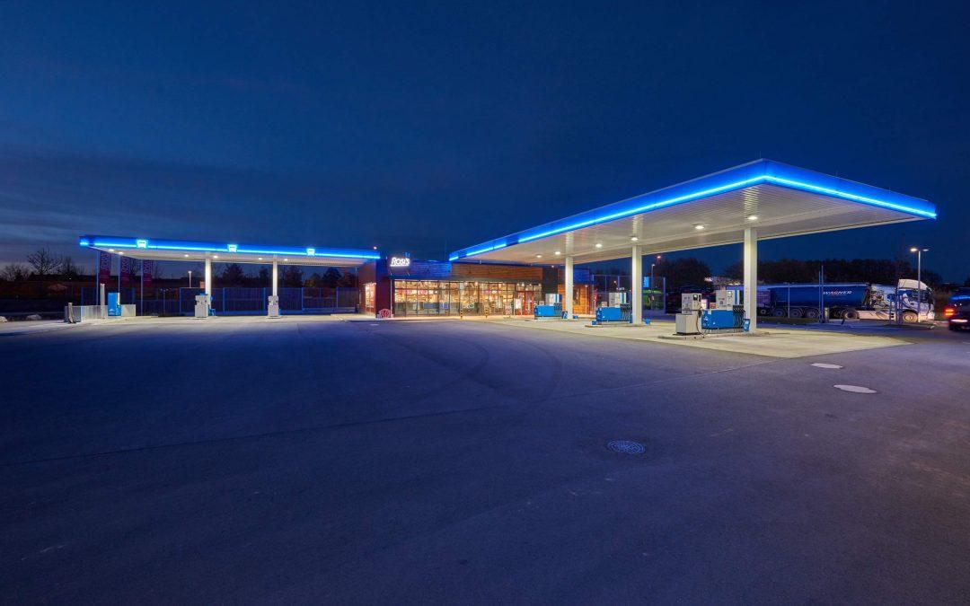 ARAL-Tankstelle in Gersthofen