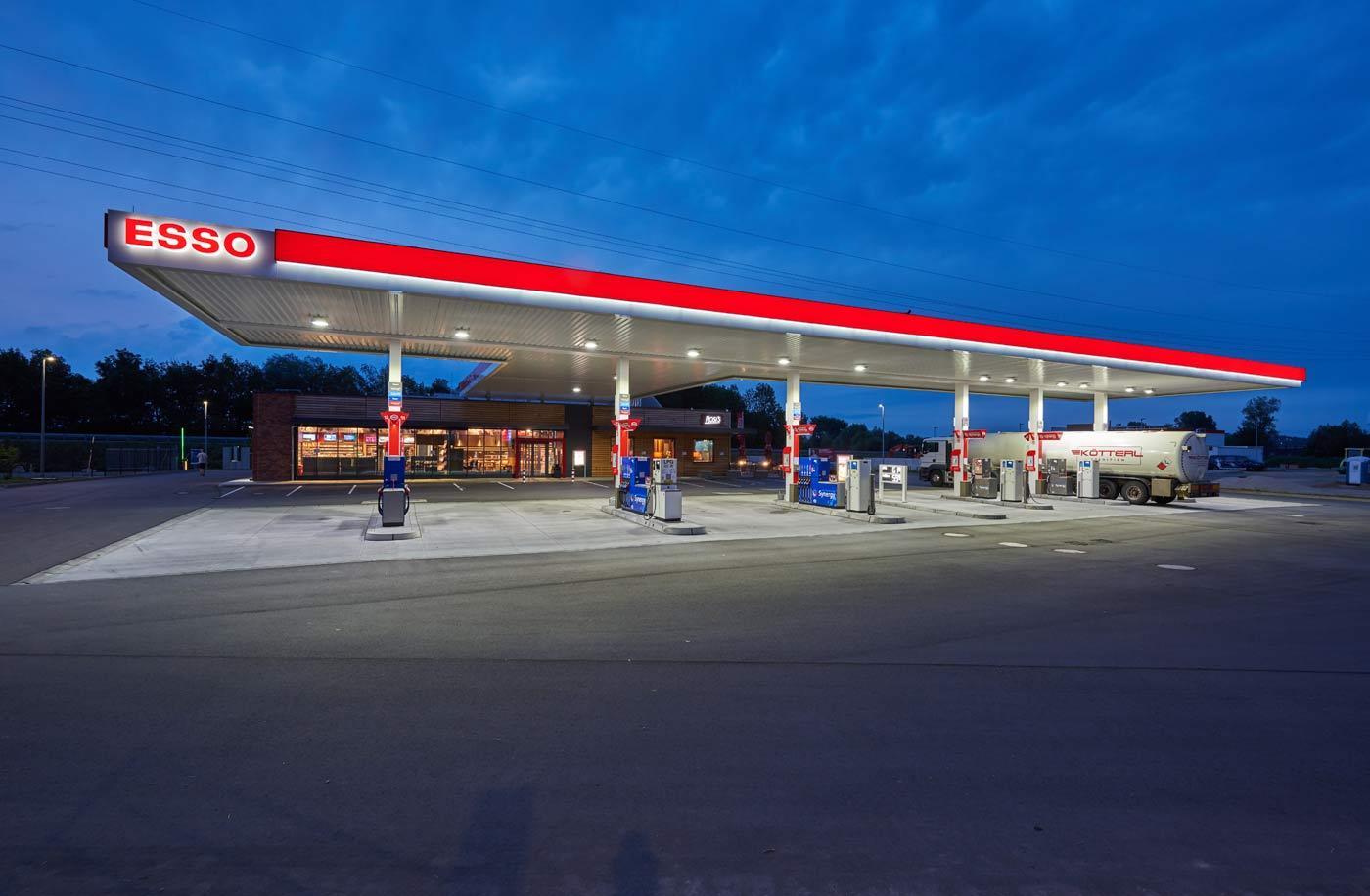 Esso Autohof Plisting