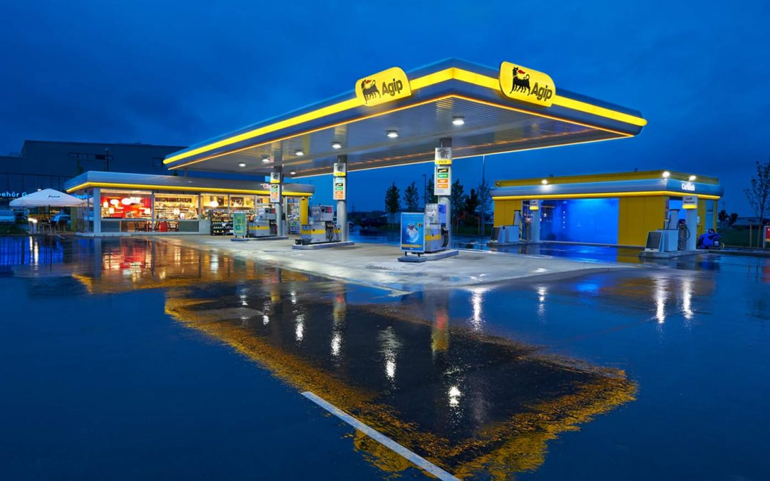 Agip-Tankstelle in Germering
