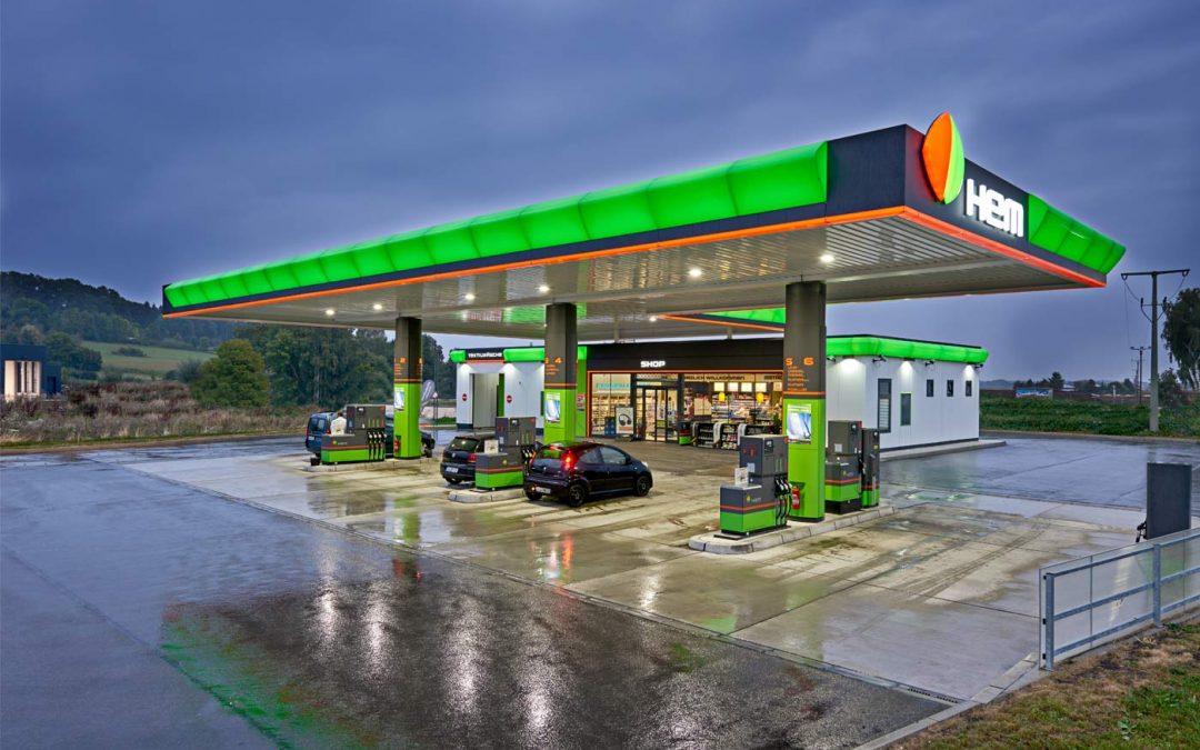 HEM-Tankstelle in Erbach