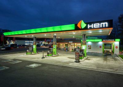 Immobileinprojekt Herecon HEM-Tankstelle in Kolbermoor