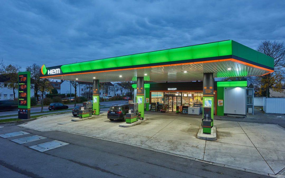 HEM-Tankstelle in München