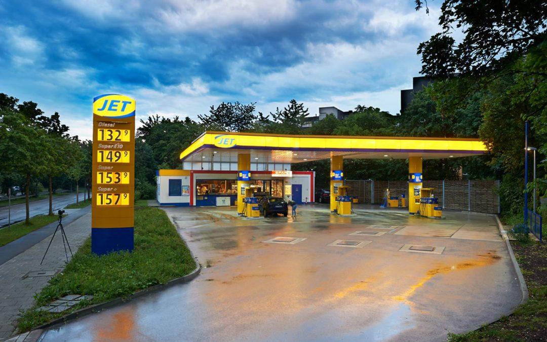 JET-Tankstelle in München-Perlach