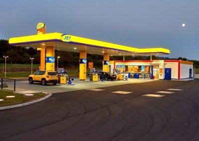 Immobileinprojekt Herecon JET Tankstelle in Niddatal