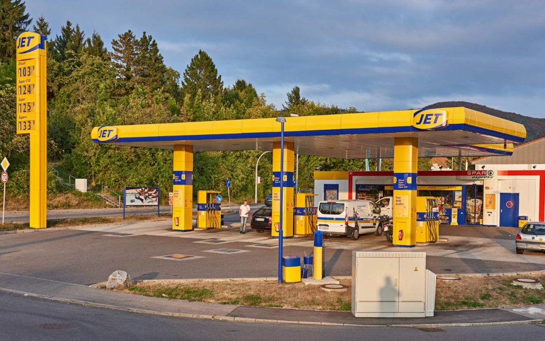 JET-Tankstelle in Eningen