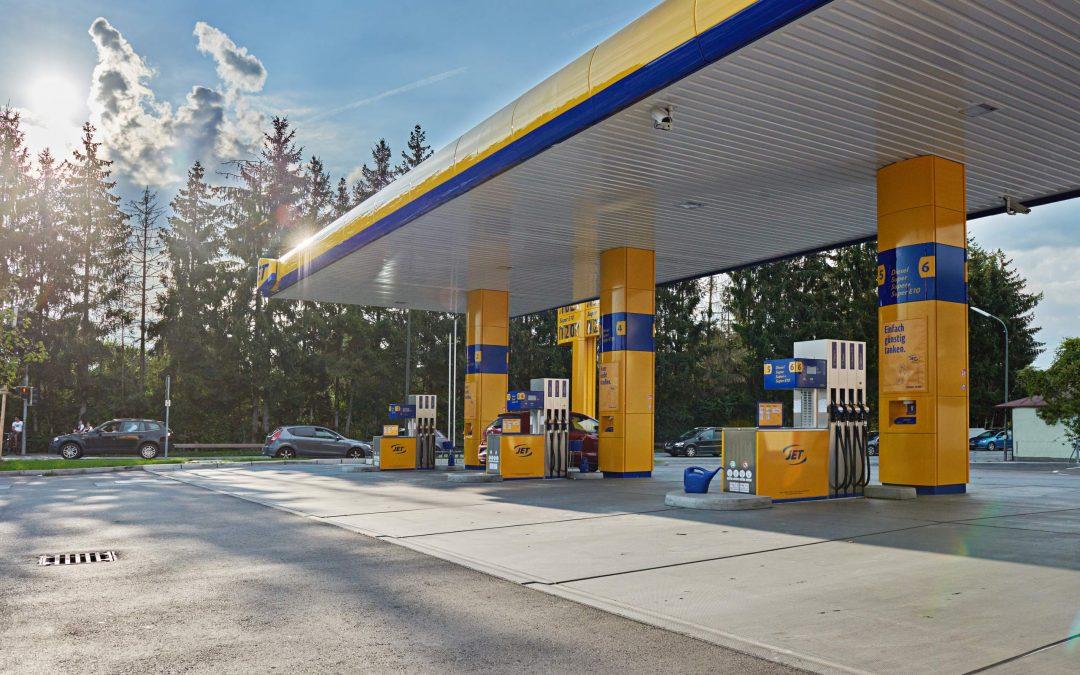 JET-Tankstelle in Rosenheim