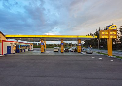 Immobileinprojekt Herecon JET TANKSTELLE IN ROSENHEIM