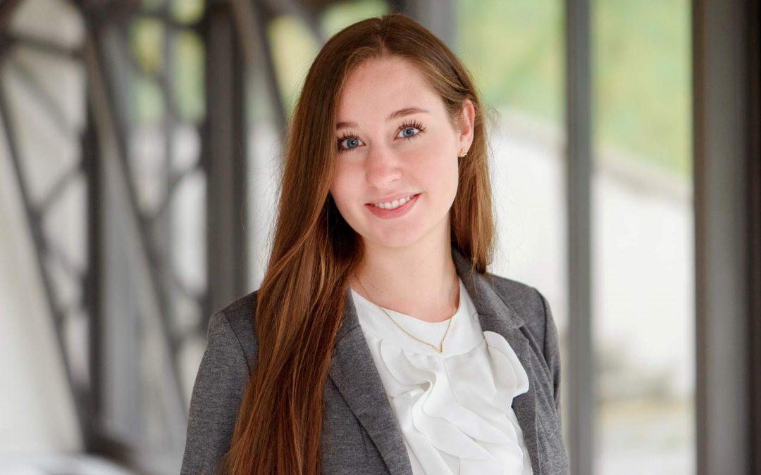 Melina Schwarz verstärkt das HERECON-Team