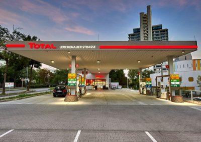Immobileinprojekt Herecon München Total Tankstellen