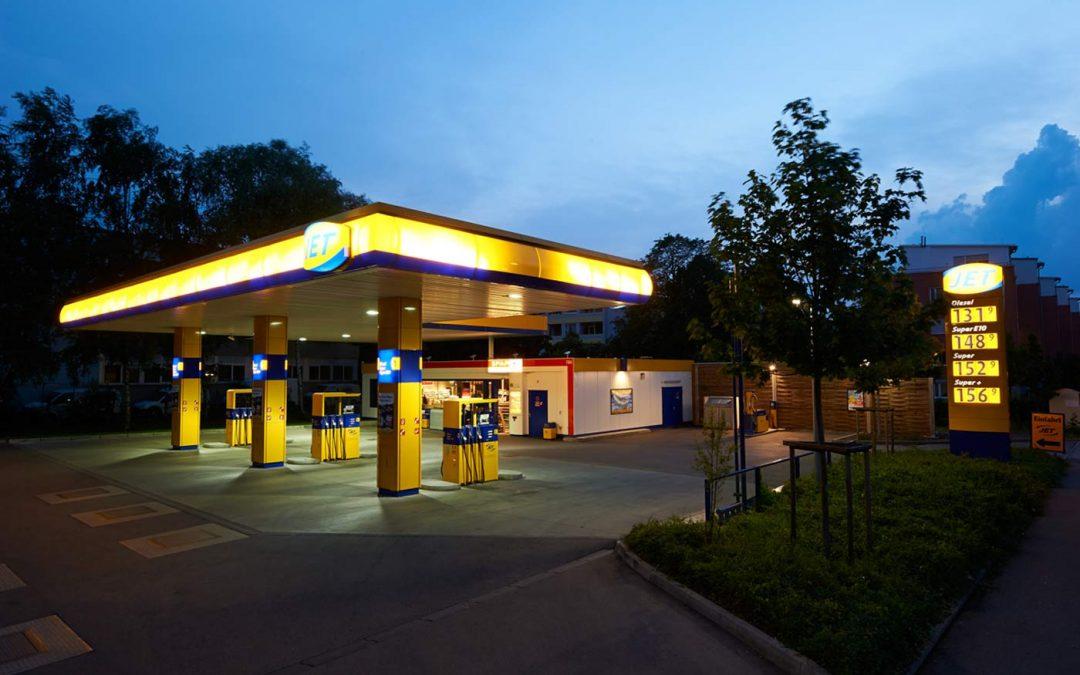 JET-Tankstelle in München
