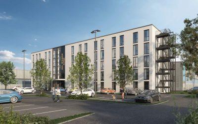HERECON entwickelt und baut innovatives Konzept-Hotel in Eching nahe München