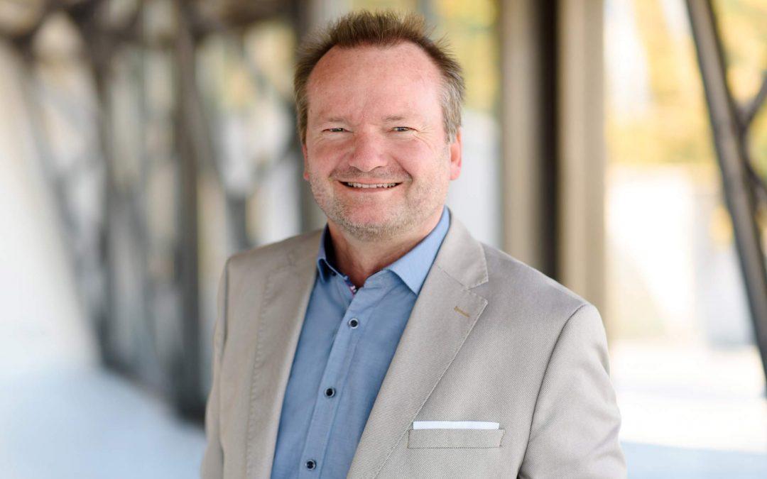Uwe Klützmann-Hoffmann verstärkt das HERECON-Team