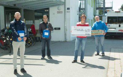 Herecon spendet für die Einrichtung Leben mit Handicap