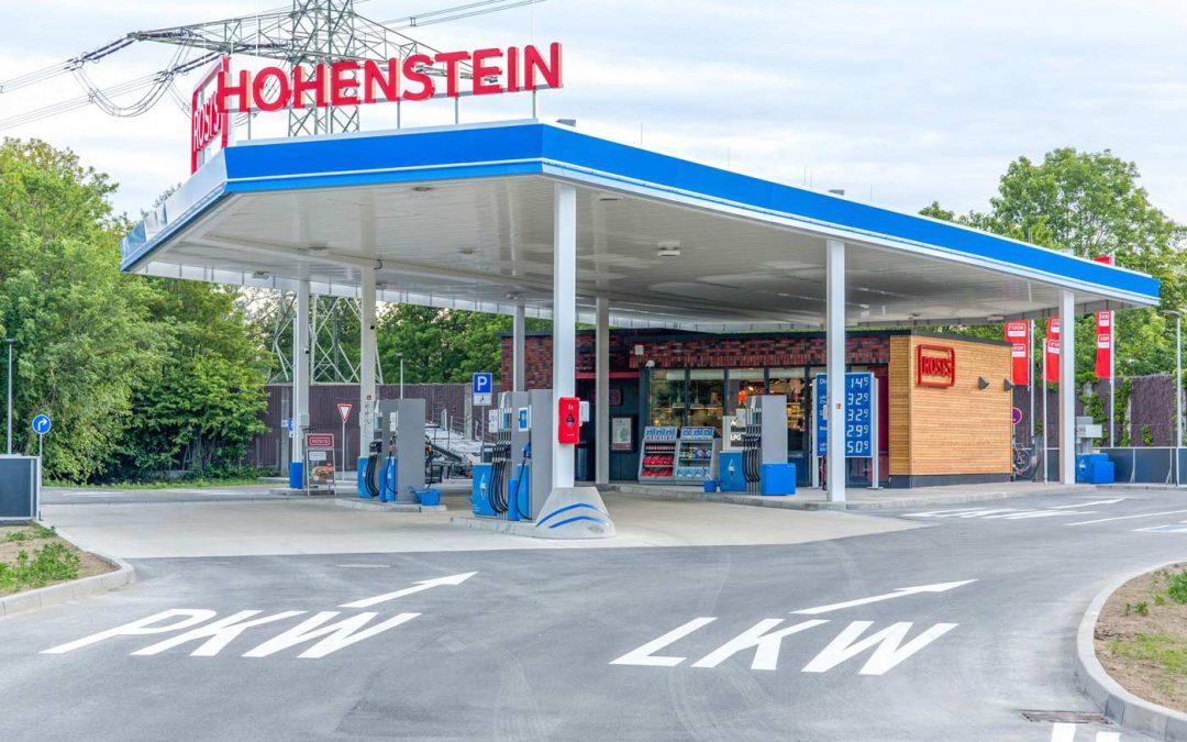 HERECON stellt private Autobahntankstelle im Westen von Ratingen fertig
