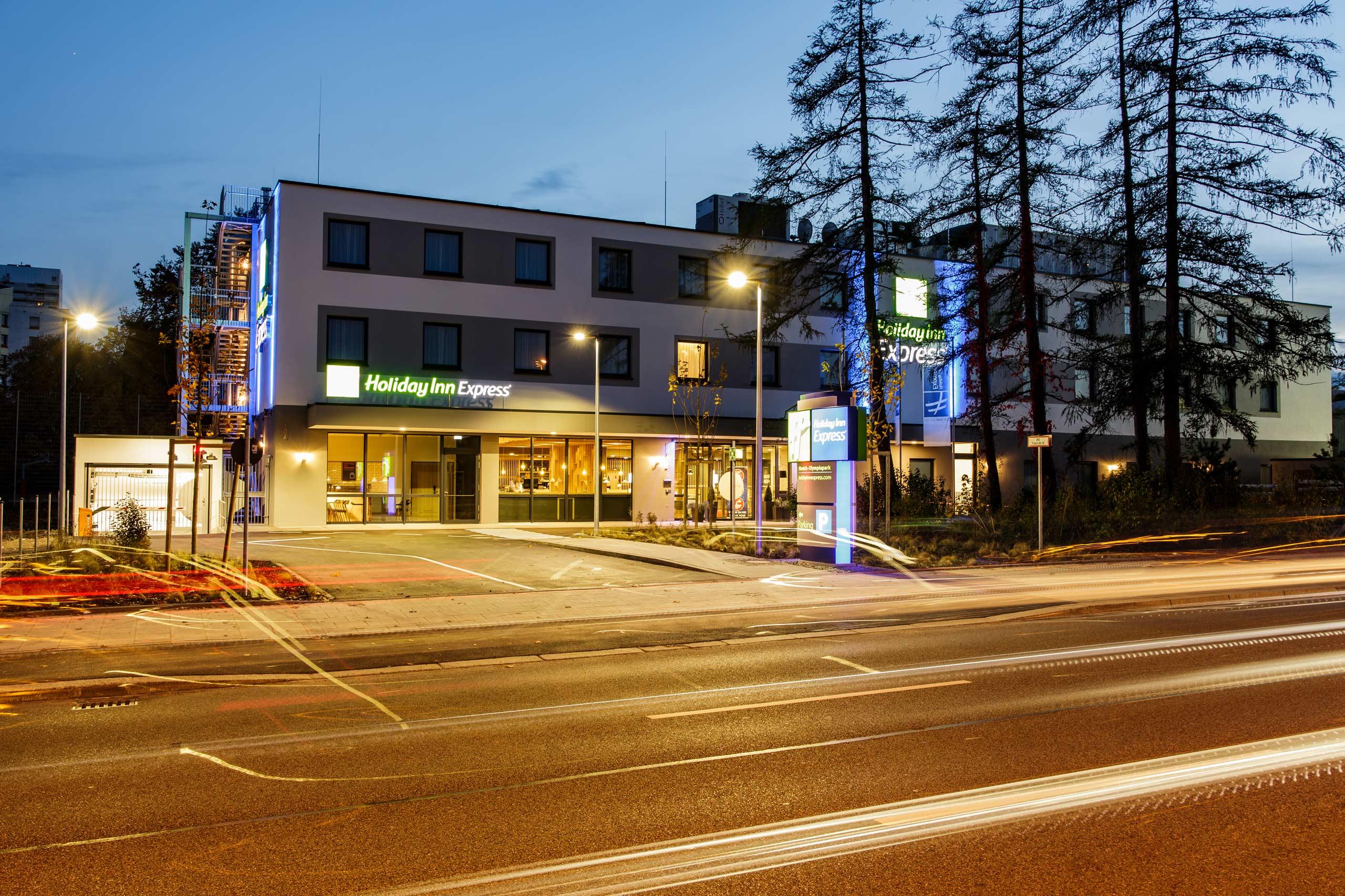 HOLIDAYINN EXPRESS Hotelneubau in München