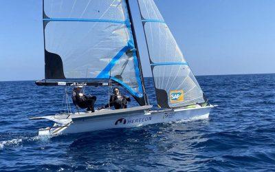 HERECON als Hauptsponsor des Olympia-Segelteams Lutz und Beucke