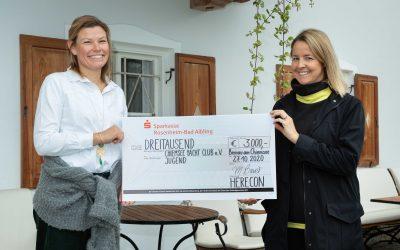 Chiemsee Yacht Club Prien: Große Dankbarkeit für die Unterstützung der Jugendarbeit